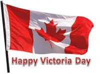 Victoria Day - stores will be closed